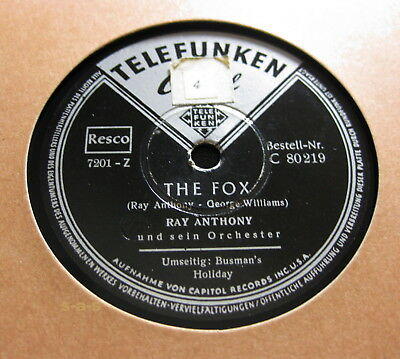 Ray Anthony - The Fox / Busman's Holiday TELEFUNKEN CAPITOL (1384)