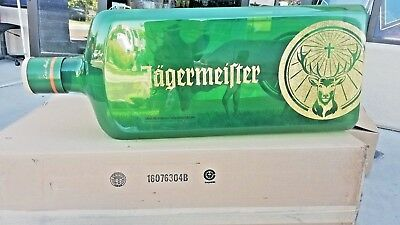 Jagermeister Giant Hanging Bottle with Stag Deer inside