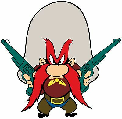 Yosemite Sam Vinyl Decal / Sticker 5 sizes!! Free Shipping!