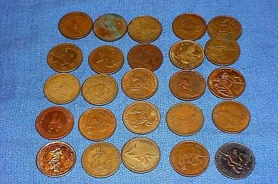Collection of 25 Vintage Zodiac  Astrology SEX Tokens
