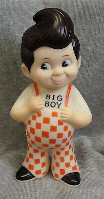Vintage 1973 Frisch's Collectable BIG BOY Rubber Coin Bank Great Condition
