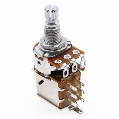 Guitar Bass Push Pull Pot A500K Push Pull Potentiometer Volume Tone Short S X2D4