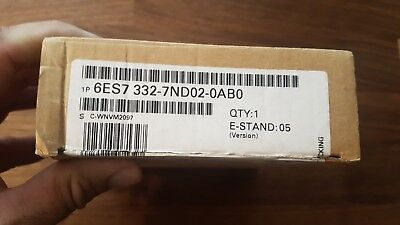 New Siemens Analog Output Module 6ES7 332-7ND02-0AB0 6ES73327ND020AB0 Germany