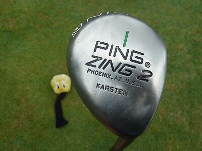 Classic Collectible Ping Zing 2 metal #1 driver with original graphite shaft