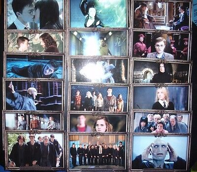 Harry Potter And The Order Of The Phoenix 18 Post Cards Set~Exc~L@@k!!!