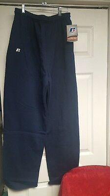 Russell Athletic Mens Practice Gear  Navy  Sweatpants  Xl