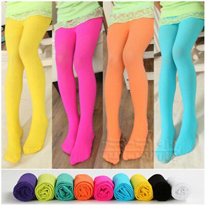 Baby Kids Toddlers Girls Knee High Socks Tights Leg Warmer Stockings For Age 2-9
