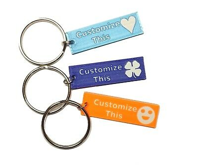Personalized Engraved Keychain. Great Gift Idea. Infinite Customizations!