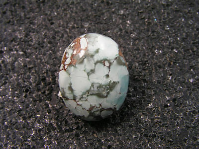16.70ct 100% natural HuBei loose spiderweb turquoise cabochon gemstone t1764