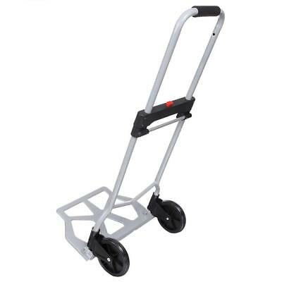 5.5'' 2 Wheels Foldable 220 lbs Folding Luggage Cart And Hand Truck Trolley US