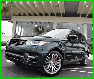 Land Rover Range Rover Sport 5.0L V8 Supercharged Autobiography  4x4