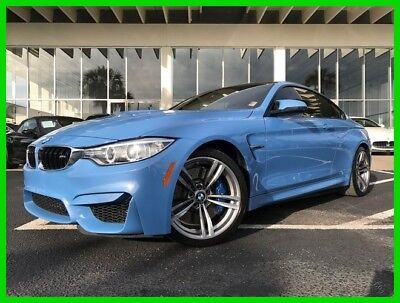 BMW M4 ~~ PREMIUM COUPE ~~~M4 ~~~ M-Serie ~~~ LIKE NEW ! 2015 Sporty Coupe Used Turbo 3L I6 24V Manual RWD Coupe Premium