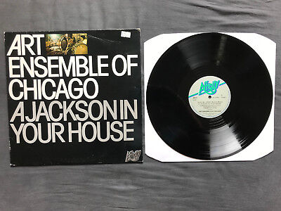 "Art Ensemble Of Chicago - A Jackson in your House (12"" LP)"