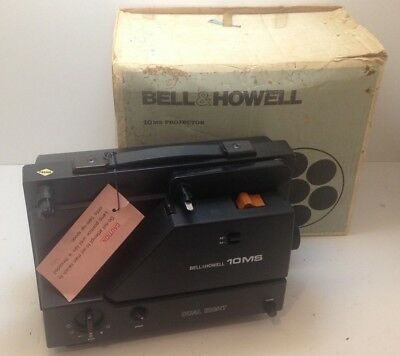Bell & Howell 10 MS Projector (No Power Cord) Untested w/ Box