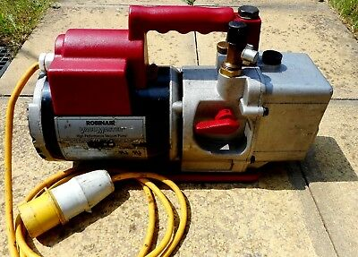 Robinair Vacumaster High Performance Vacuum Pump Model 15601  #collection Only#