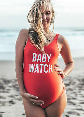 NEW - Mamagama - Baby Watch Swimsuit - Maternity Swimsuit