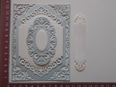 Die cuts - Spellbinders Mats, 5 pieces, Card Toppers, Embellishments - Lot 3