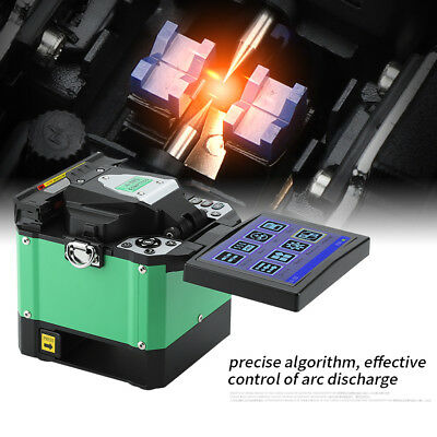 A-80S FTTH Optical Fiber Welding Splicing Machine Fiber Fusion Splicer 100V-240V
