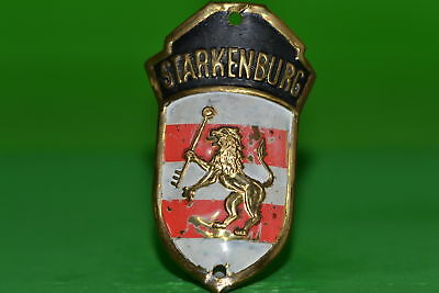 Vintage bicycle - Tablet Logo of the manufacturer-Starkenburg-4605