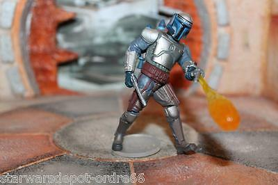 Jango Fett Final Battle Star Wars SAGA 2002