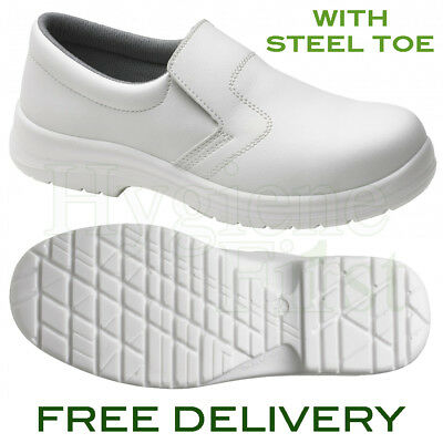 Supertouch (94100) Food X Slip-On Safety Work Shoe - Steel Toe - White