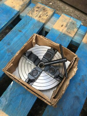 Record Lathe Warco 4 Jaw Chuck