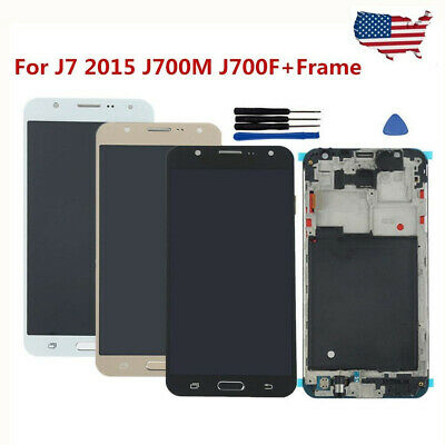 For Samsung Galaxy J5 J7 Prime LCD Digitizer Assembly Touch Screen+Frame USA