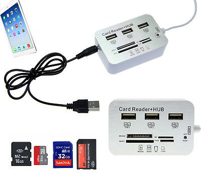 Connection Kit SD TF Kartenleser USB Hub Adapter für iPad 4 3 2 Mini Air IOS 11