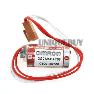 1pc New for Omron 3G2A9-BAT08 C500-BAT08 3.6V CQM1/CQM2 PLC Li-ion battery