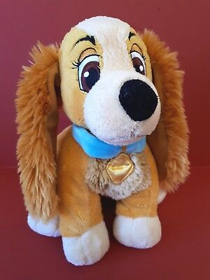 Lady & the Tramp Soft Toy Disney Store Exclusive Lady Plush Spaniel Dog Toy