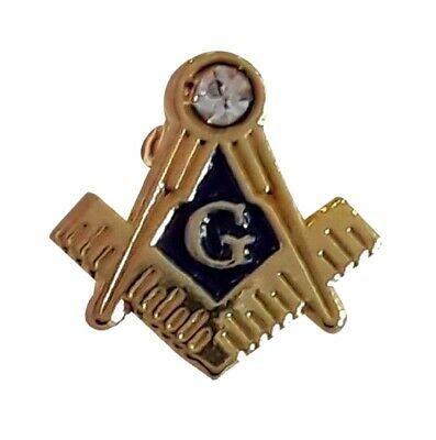 Square, Compass Masonic Lapel Pin LP29
