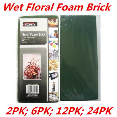 Wet Flower Floral Foam Brick Block Type Green Color Flower Decoration Display WM