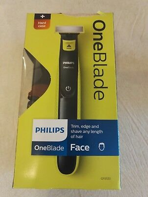 Philips Oneblade Hybrid Trimmer With Li-Ion battery Travel Case 3 Stubble Combs