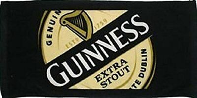 """Guinness Extra Stout - 1759 Label Bar Towel 19""""x9.5"""" 100 Cotton 02263 New"""