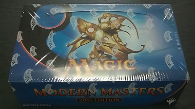 Modern Masters 2015 Sealed Box, Magic the Gathering.