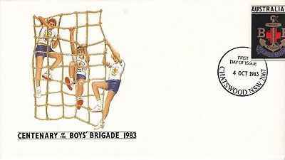1983 Pre-stamped envelope 66 Boys Brigade. First day of issue.
