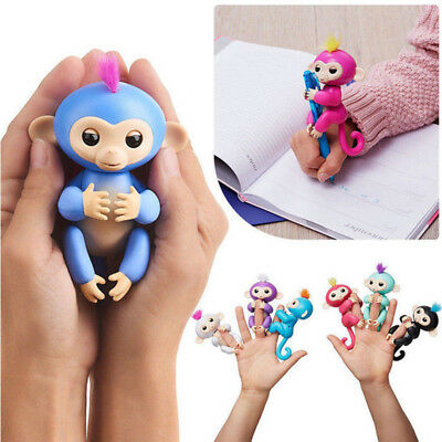 New Cute Finger Baby Monkey Interactive Electronic Smart Kids Toy Pet 2018