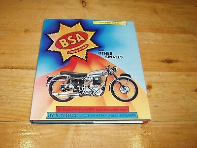 BSA Gold Star & Other Singles by Roy Bacon. (Osprey Collectors Library). 1st Ed.