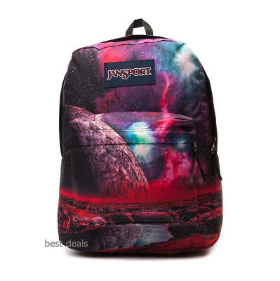 JanSport 25L High Stakes Multi Cosmic Waters Galaxy Canvas BackPack Book Bag  New fd475feeb5763