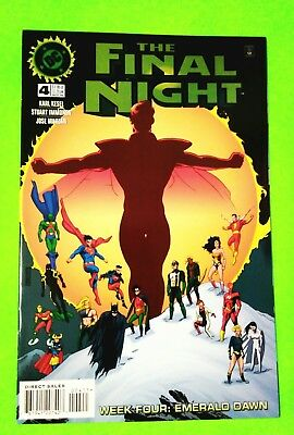 Final Night Week #4 Emerald Dawn, Dc, November 1996, Nm 9.4, Combined Shipping!