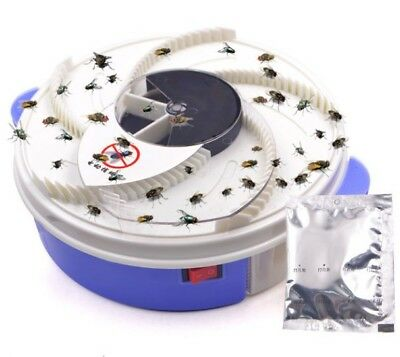 Electric USB Automatic Flycatcher Trap Pest Reject Control Catcher Mosquito New