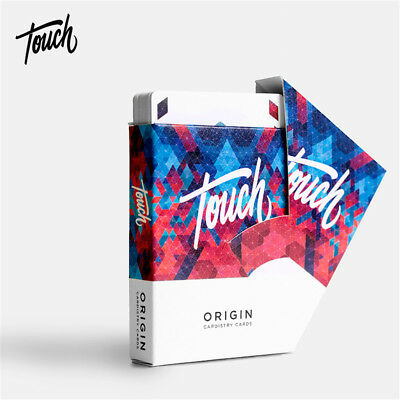 1 Deck Touch Origin Cardistry King Magic Playing Cards Poker Magic Props Tricks