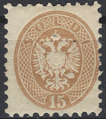 Lombardy Veneto Sassone Nr. 45 MH with gum, little thin