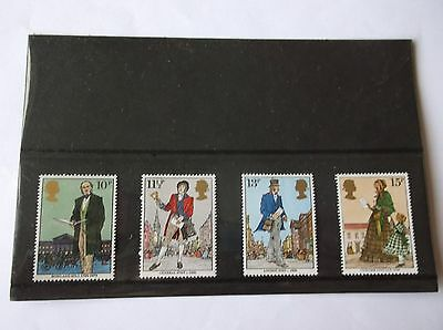 GB Stamps Mint Set Oct 79 Sir Rowland Hill