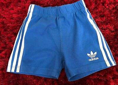 Baby Boys Adidas Shorts Age 12/18 Months Great Condition