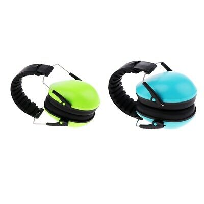 2Pcs Hearing Protection Ear Muffs Cover Noise Cancelling Earmuffs Sleeping