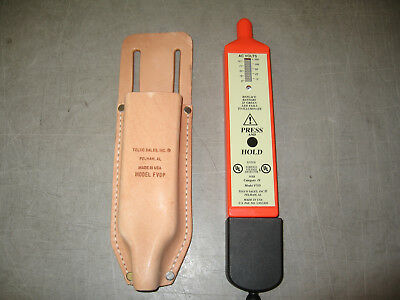 Telco Sales FVD/FVDP Foreign Voltage Detector & Leather Pouch HVAC