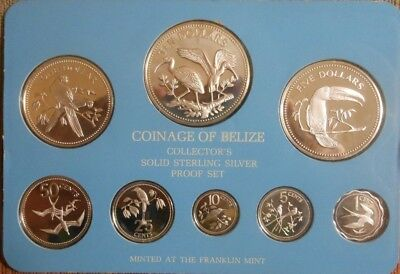 1980 Belize Silver Proof Set