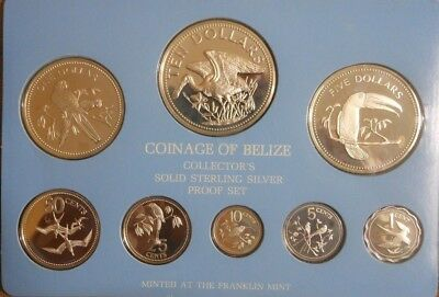 1981 Belize Silver Proof Set