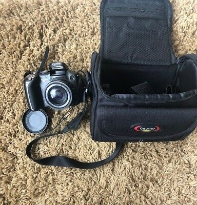 Canon PowerShot S3 IS 6.0MP Digital Camera - Black with Case